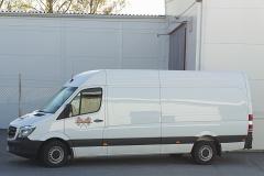 En av våra distributionsbilar som kör ut kvälls- och veckotidningar.