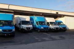 """Lastning vid """"lilla"""" lastkajen vid vår terminal i Norrtälje."""